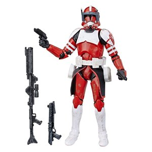Star Wars The Clone Wars Black Series Action Figure Clone Commander Fox Exclusive 15 cm