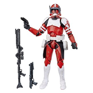 Hasbro Star Wars The Clone Wars Black Series Action Figure Clone Commander Fox Exclusive 15 cm