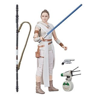 Hasbro Star Wars Episode IX Black Series Action Figure 2019 Rey & D-O 15 cm