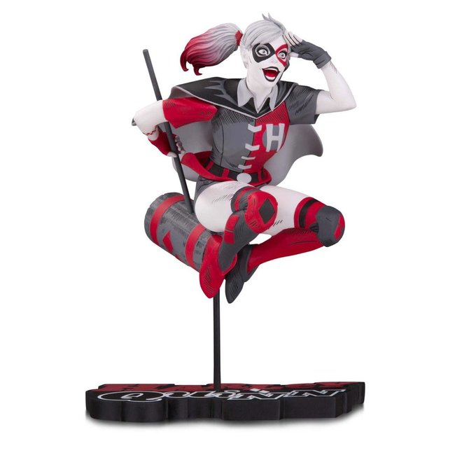 DC Collectibles DC Comics Red, White & Black Statue Harley Quinn by Guillem March 18 cm