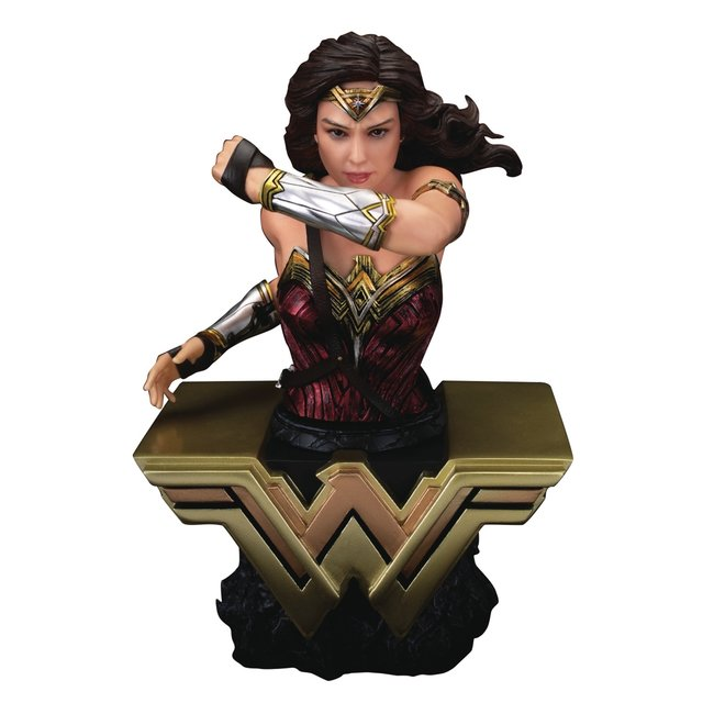Beast Kingdom Justice League PVC Bust Wonder Woman 15 cm