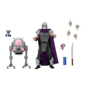 Teenage Mutant Ninja Turtles Action Figure 2-Pack Shredder vs Krang in Bubble Walker 18 cm