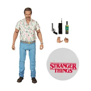 Stranger Things Action Figure Chief Hopper (Season 3) 18 cm