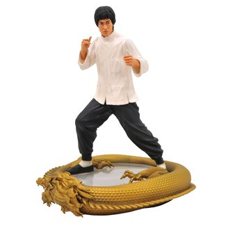 Diamond Select Toys Bruce Lee Premier Collection Statue 80th Birthday 28 cm