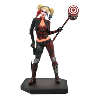 Diamond Select Toys Injustice 2 DC Video Game Gallery PVC Statue Harley Quinn 23 cm