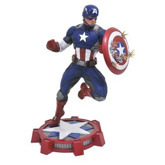 Diamond Select Toys Marvel NOW! Marvel Gallery PVC Statue Captain America 23 cm