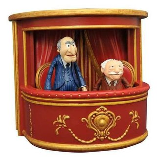 Diamond Select Toys Die Muppets Select Actionfiguren 13 cm 2-Pack Series 2 Statler & Waldorf
