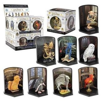 Noble Collection Harry Potter Magical Creatures Mystery Cube Statues 7 cm