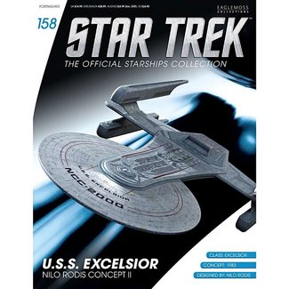 Eaglemoss Collections Star Trek Official Starships Collection #158