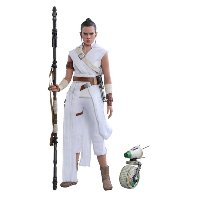 Hot Toys Star Wars Episode IX Movie Masterpiece Action Figure 2-Pack 1/6 Rey & D-O 28 cm
