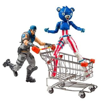McFarlane Fortnite Action Figures Shopping Cart Pack War Paint & Fireworks Team Leader 18 cm