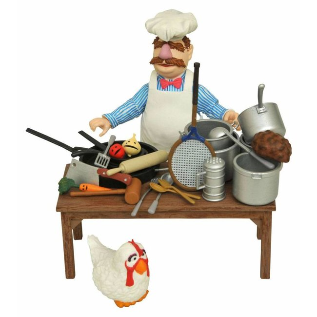 Diamond Select Toys The Muppets Action Figure The Swedish Chef Deluxe Gift Set
