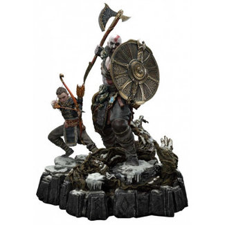 Prime 1 Studio God of War (2018) Statue Kratos & Atreus Deluxe Version 72 cm