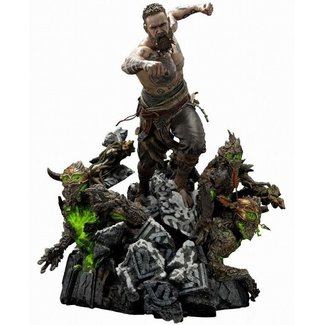 Prime 1 Studio God of War (2018) Statue Baldur & Broods 62 cm