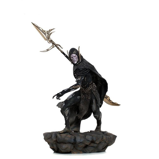 Iron Studios Avengers: Endgame BDS Art Scale Statue 1/10 Corvus Glaive Black Order 27 cm