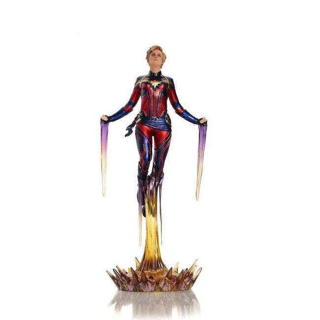 Iron Studios Avengers: Endgame BDS Art Scale Statue 1/10 Captain Marvel 26 cm