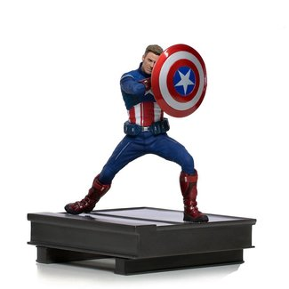 Iron Studios Avengers: Endgame BDS Art Scale Statue 1/10 Captain America 2023 19 cm