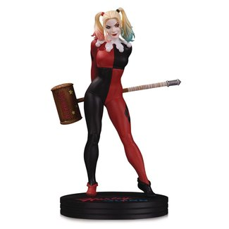DC Collectibles DC Cover Girls Statue Harley Quinn by Frank Cho 23 cm