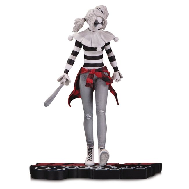 DC Collectibles DC Comics Red, White & Black Statue Harley Quinn by Steve Pugh 18 cm