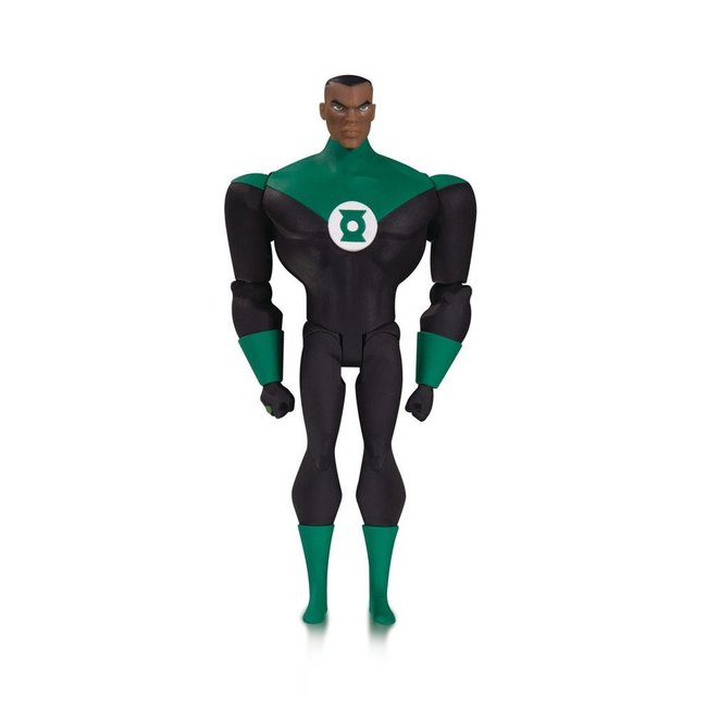 DC Collectibles Justice League The Animated Series Action Figure Green Lantern John Stewart 14 cm
