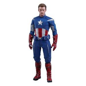 Avengers: Endgame Movie Masterpiece Action Figure 1/6 Captain America (2012 Version) 30 cm