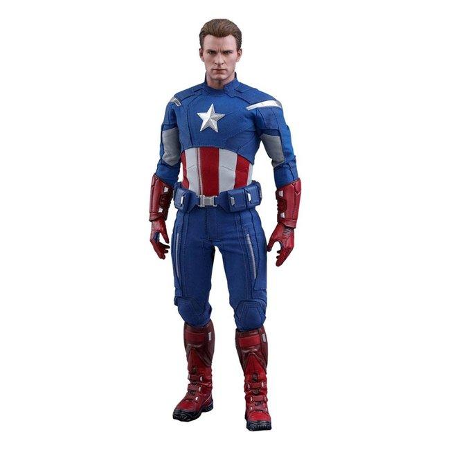 Hot Toys Avengers: Endgame Movie Masterpiece Action Figure 1/6 Captain America (2012 Version) 30 cm
