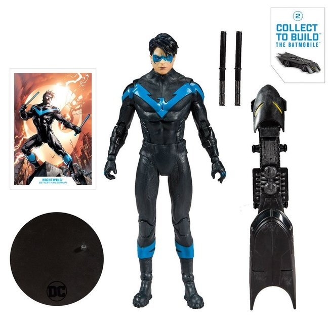 McFarlane DC Rebirth Build A Action Figure Nightwing (Better Than Batman) 18 cm