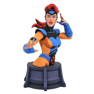 Diamond Select Toys Marvel X-Men Animated Series Bust Jean Grey 15 cm
