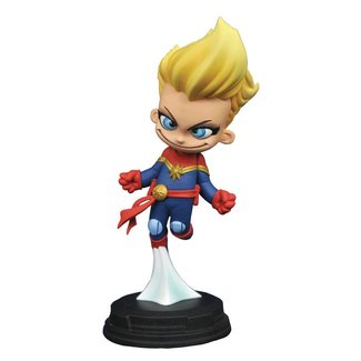 Diamond Select Toys Marvel Animated Statue Captain Marvel 10 cm