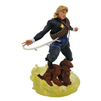 Diamond Select Toys Marvel Comic Gallery PVC Diorama Longshot 30 cm