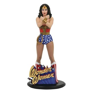 Diamond Select Toys DC Comic Gallery PVC Statue Linda Carter Wonder Woman 23 cm