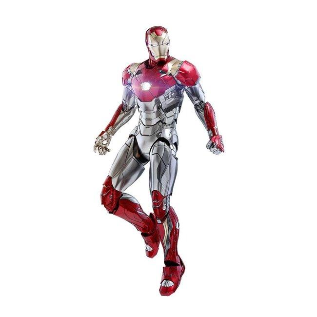 Hot Toys Spider-Man Homecoming Movie Masterpiece Diecast Action Figure 1/6 Iron Man Mark XLVII Reissue 32 cm
