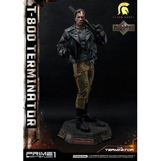 Prime 1 Studio Terminator Statue 1/2 T-800 Deluxe Version 117 cm