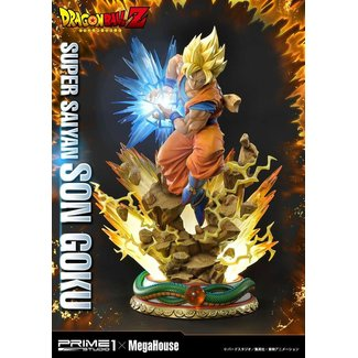 Prime 1 Studio Dragon Ball Z Statue 1/4 Super Saiyan Son Goku 64 cm
