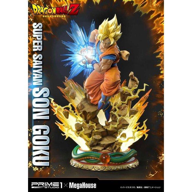 Prime 1 Studio Dragon Ball Z Statue 1/4 Super Saiyan Son Goku 64 cm
