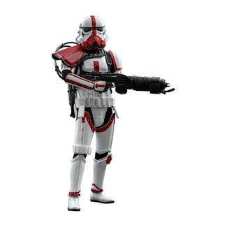 Hot Toys Star Wars The Mandalorian Action Figure 1/6 Incinerator Stormtrooper 30 cm