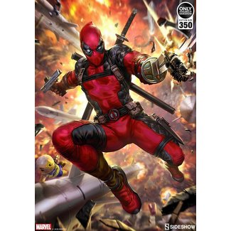 Sideshow Collectibles Marvel Art Print Deadpool: Heat-Seeker 46 x 61 cm - unframed