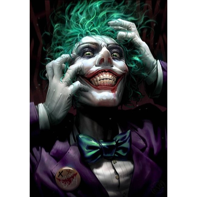 Sideshow Collectibles DC Comics Art Print The Joker: Just One Bad Day by Derrick Chew 46 x 61 cm - unframed