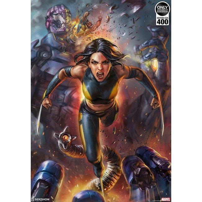 Sideshow Collectibles Marvel Art Print X-23 by Ian MacDonald 61 x 46 cm - unframed
