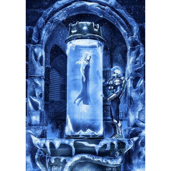 Sideshow Collectibles DC Comics Art Print Mr. Freeze: Heart of Ice 46 x 61 cm - unframed