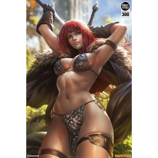 Sideshow Collectibles Dynamite Entertainment Art Print Red Sonja by Derrick Chew 61 x 46 cm - unframed