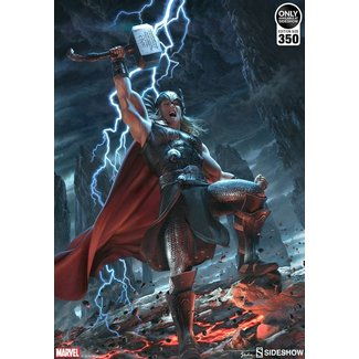 Sideshow Collectibles Marvel Art Print Thor: Breaker of Brimstone 46 x 61 cm - unframed