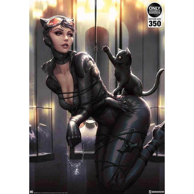 Sideshow Collectibles DC Comics Art Print Catwoman: All Tied Up by Kendrick Lim 46 x 61 cm - unframed