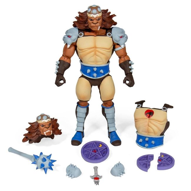 Super7 Thundercats Ultimates Action Figure Wave 2 Grune The Destroyer 18 cm