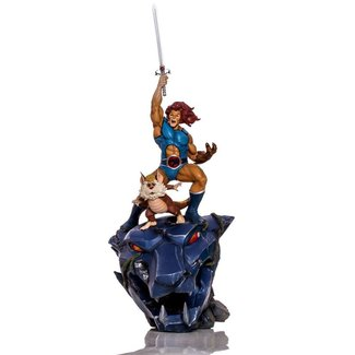 Iron Studios Thundercats BDS Art Scale Statue 1/10 Lion-O & Snarf Deluxe 43 cm