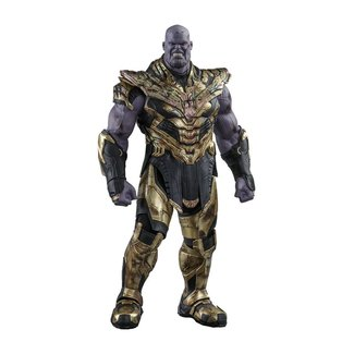 Hot Toys Avengers: Endgame Movie Masterpiece Action Figure 1/6 Thanos Battle Damaged Version 42 cm