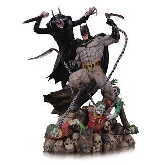 DC Collectibles DC Comics Battle Statue Batman Who Laughs vs. Batman 33 cm