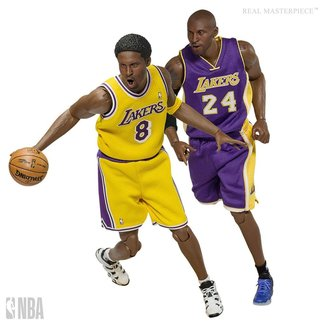 Enterbay NBA Collection Real Masterpiece Actionfigur 1/6 Kobe Bryant Upgraded Re-Edition 30 cm
