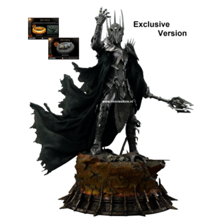 Prime 1 Studio Lord of the Rings Statue 1/4 The Dark Lord Sauron Exclusive Version 109 cm