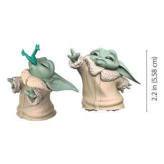 Hasbro Star Wars Mandalorian Bounty Collection Figure 2-Pack The Child Froggy Snack & Force Moment